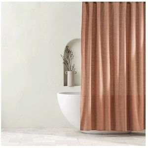 CHAMBRAY SHOWER CURTAIN HOME
